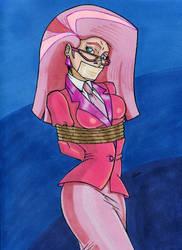 Ms Pink New Job by gustorak