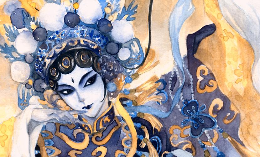 Peking Opera 3 by twin1992