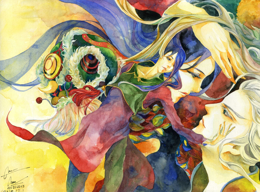 unicorn dance by twin1992