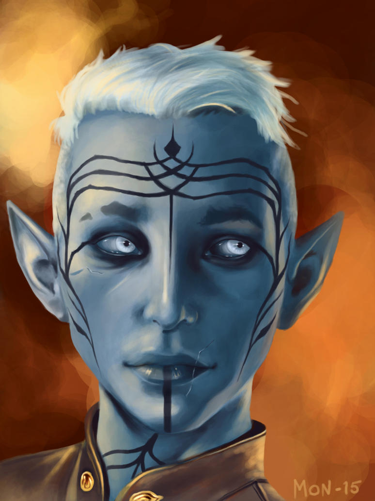 Inquisitor Lavellan by Sonen89