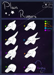 PR Biped reference: Ear Types by StarryCorvid