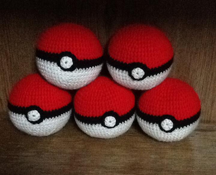 Crochet Pokeball Shop Inventory 1 By Onlera On Deviantart