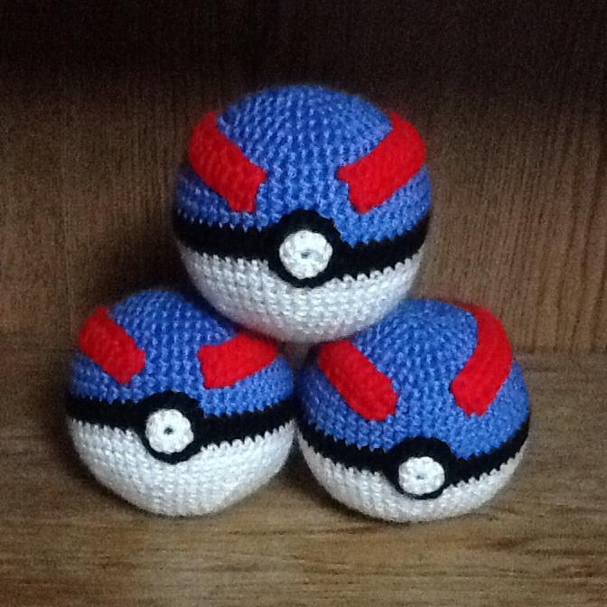 Crochet Pokeball Shop Inventory 2 By Onlera On Deviantart