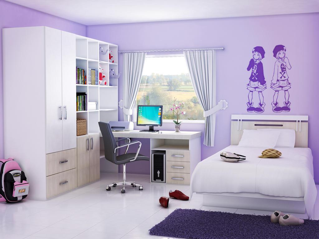 Interior A Girls Bedroom a girls bedroom by antonioboer on deviantart antonioboer