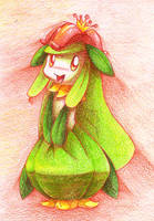 Lilligant by Frozenspots
