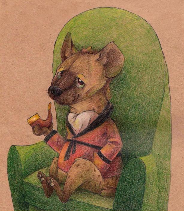 Fancy Hyena by Frozenspots