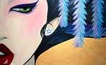 Geisha on canvas 2010
