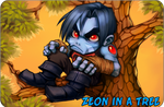Zeon in a tree