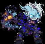 WoW Chibi - Warrior