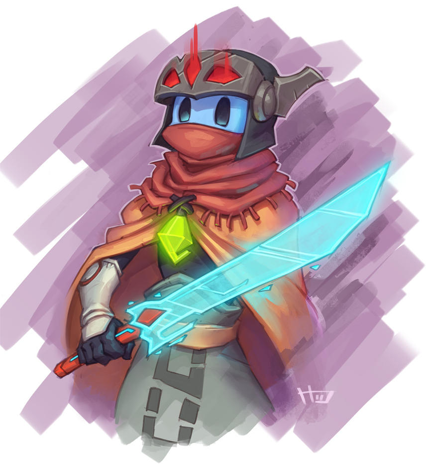 Hyper Light Drifter by Zeon-in-a-tree
