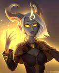 Cephia, Lightforged Priest
