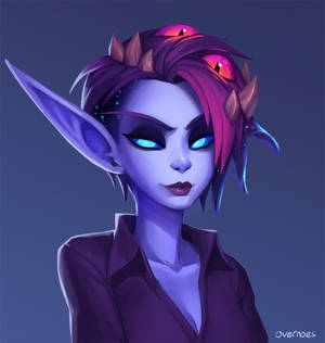 Voidtember 20th - Different Hairstyle