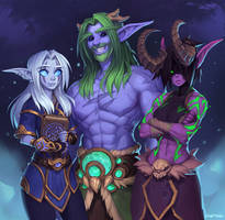Ceresiel, Trutelion and Zabi