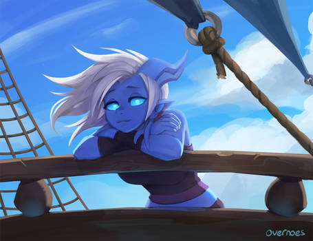 Draecember 4th - Out to sea