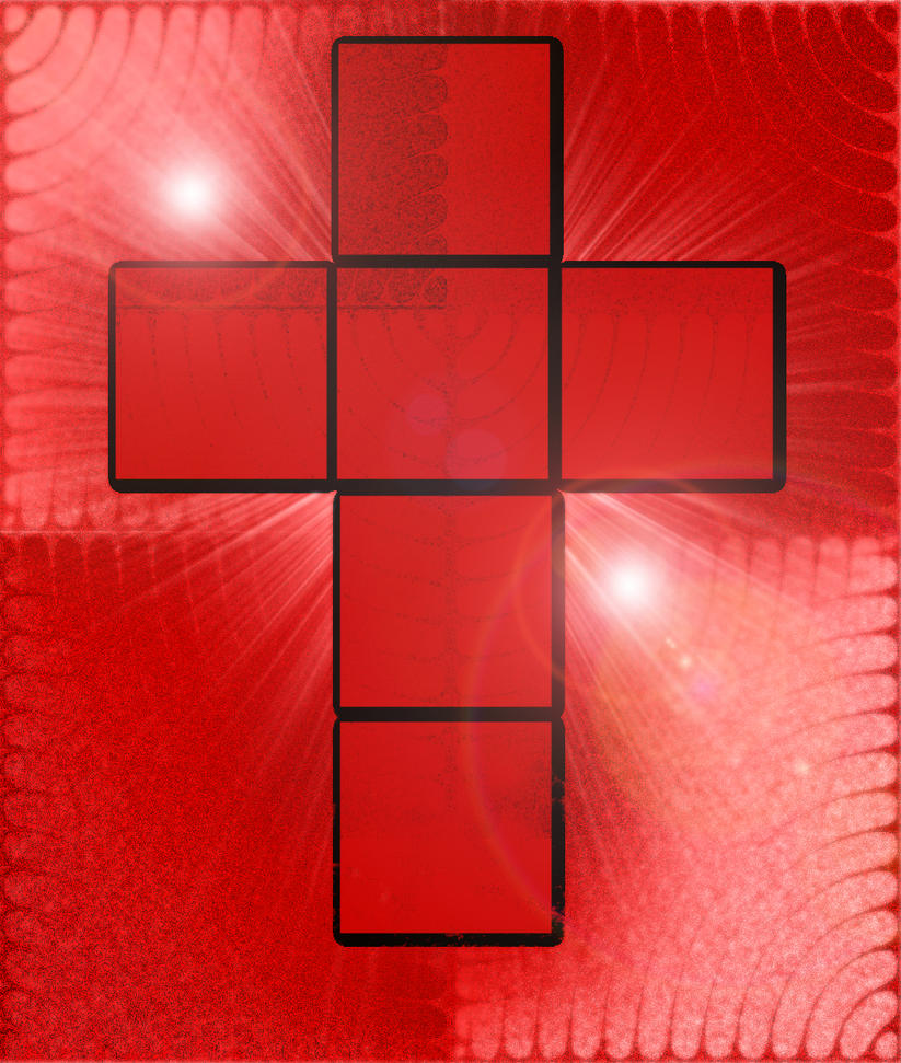 A cross by LucifericChrist