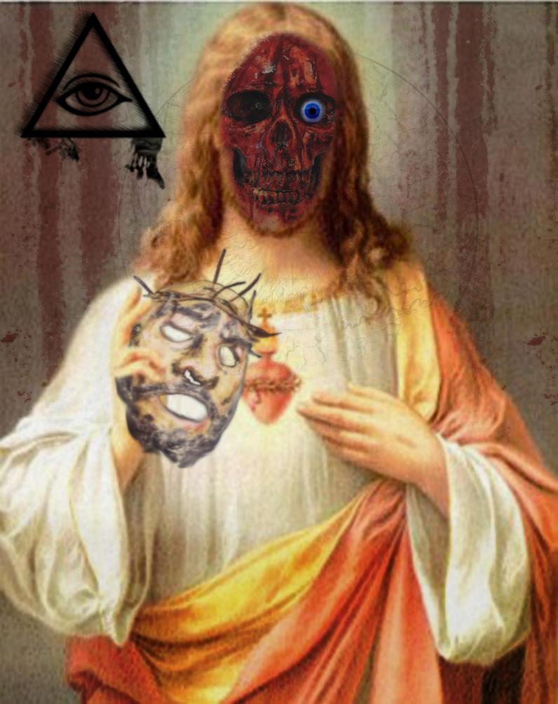 Jesus Remove Your Death Mask by LucifericChrist