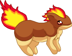 Quilava Shiny by SALBP