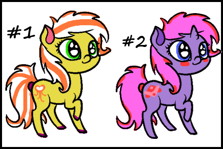 Pony Adopts :CLOSED: by SALBP