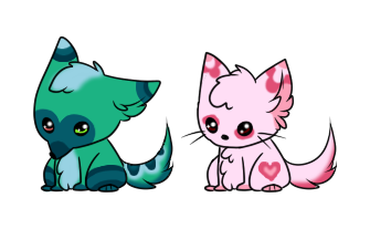 Puppy and Kitty Adopts :CLOSED: by SALBP