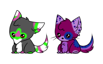 Puppy and Kitty Adopts :OPEN: by SALBP