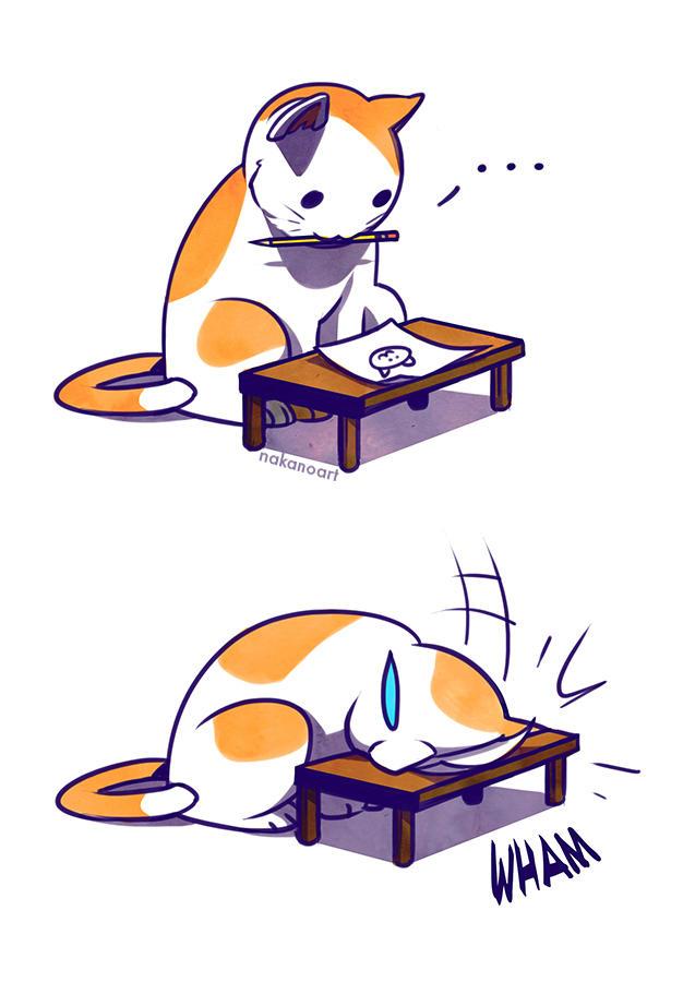 Sad Kitty Facedesk