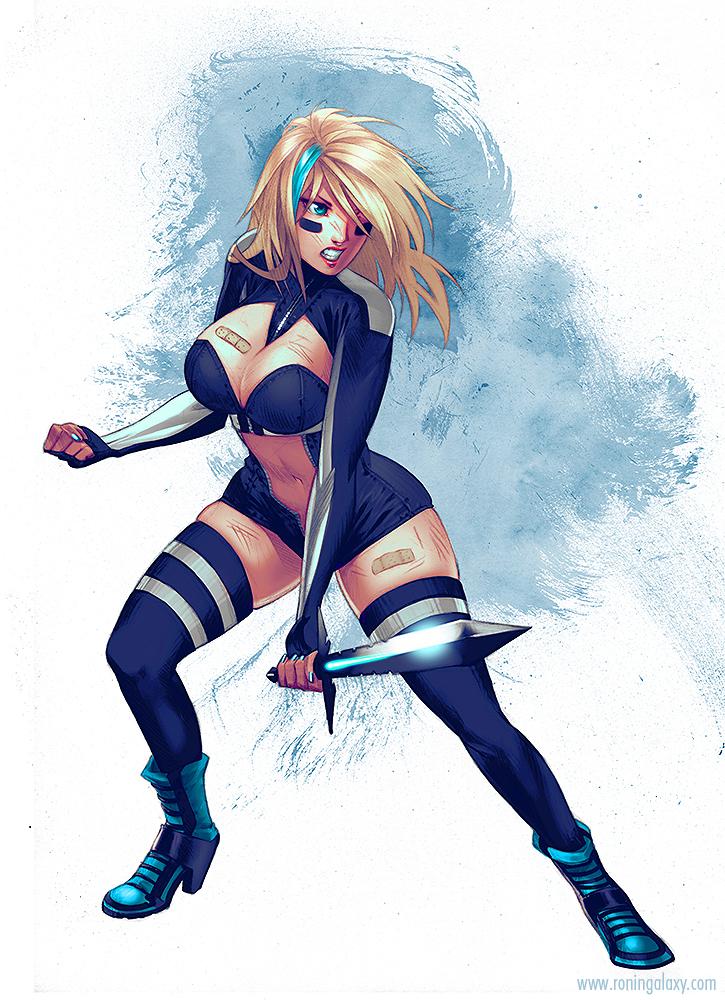 RG: Leona - The Knight-Errant by inanna-nakano