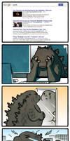 Comic: Fat Godzilla