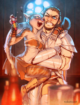 Skyrim: Farkas and Khajiit