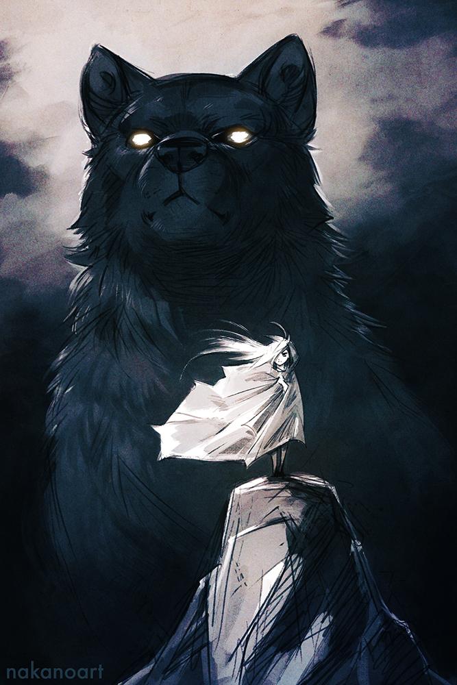 Big Bad Wolf by nakanoart