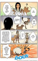 Skyrim: Lydia and Khajiit