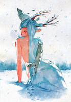 Snow Queen by nakanoart