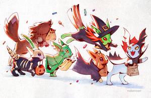 Happy Halloweevees!