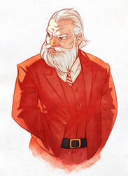 Dapper Santa