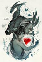Mending a Broken Heart by nakanoart