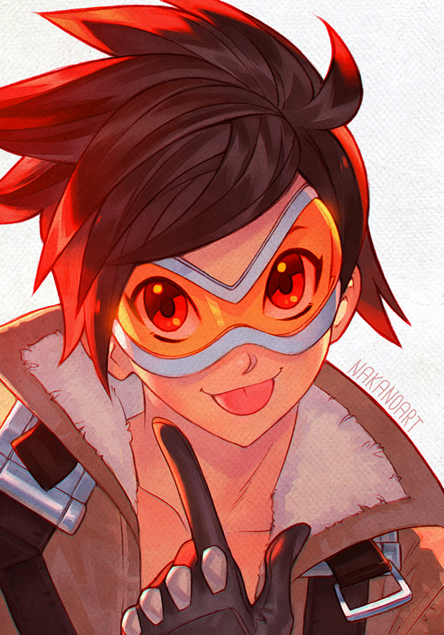Overwatch - Tracer by nakanoart