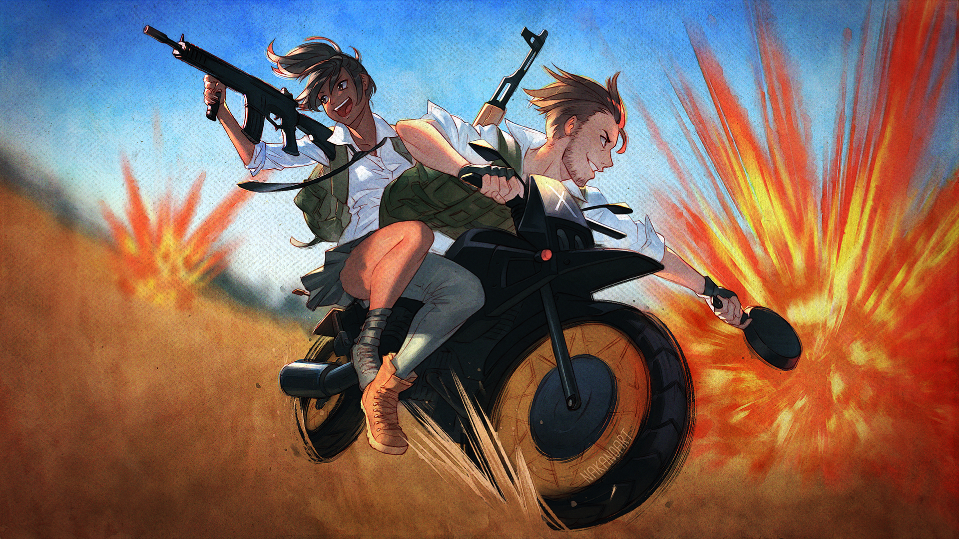 Pubg Background Wallpapers: PUBG: Circles Are Red, Circles Are Blue By Nakanoart On