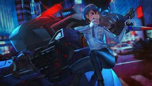 Overwatch Anniversary - Officer D.Va