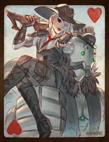 Overwatch - Ashe: Queen of Hearts