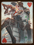 Overwatch - Ashe: Queen of Hearts by nakanoart