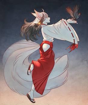White Wolf Maiden