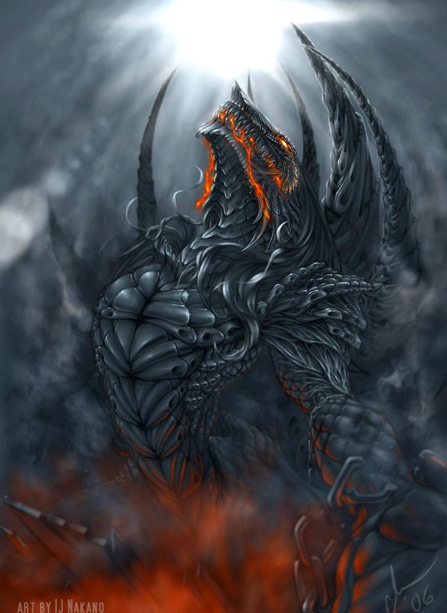 Démon de Lave Enchainé dans Darkness Volte_face_by_silverbobcat