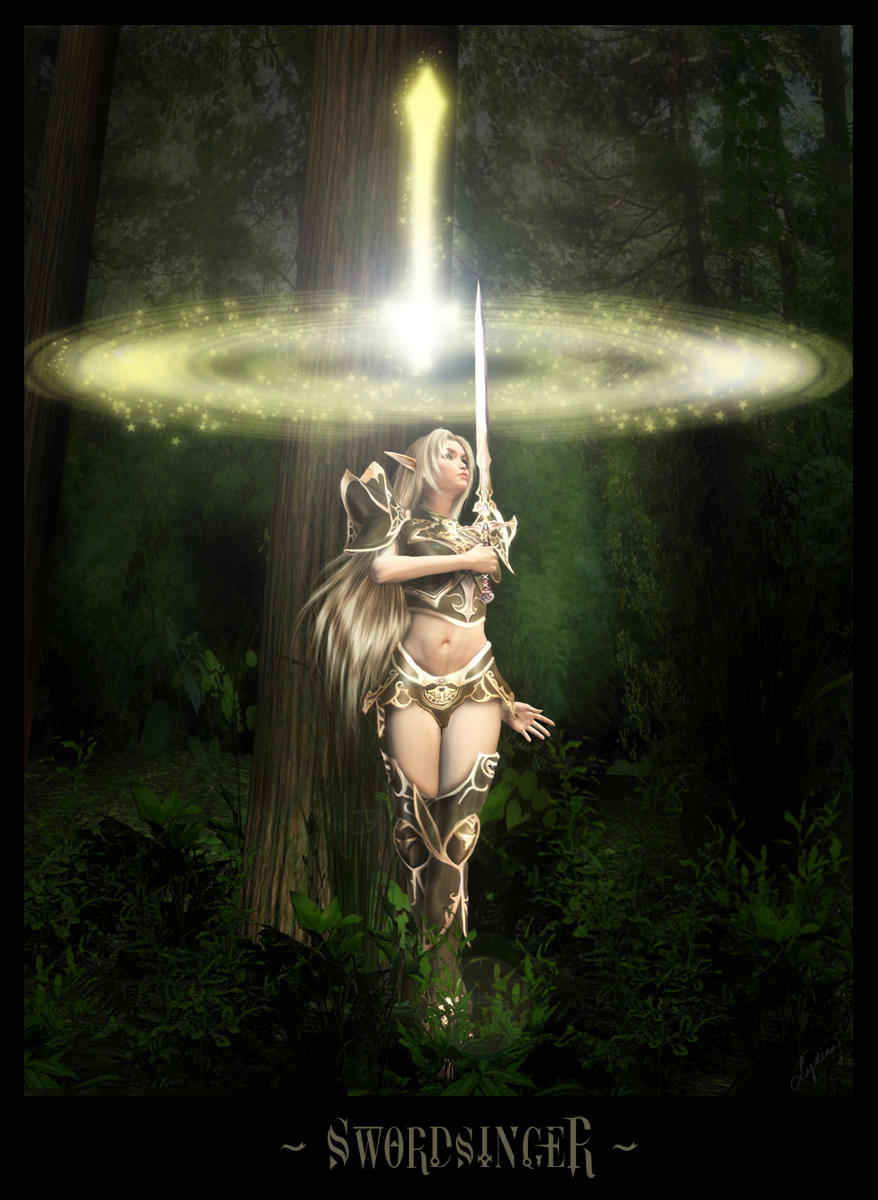 Swordsinger by ladylydian