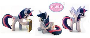 15 Inch Poseable Alicorn Twilight Sparkle