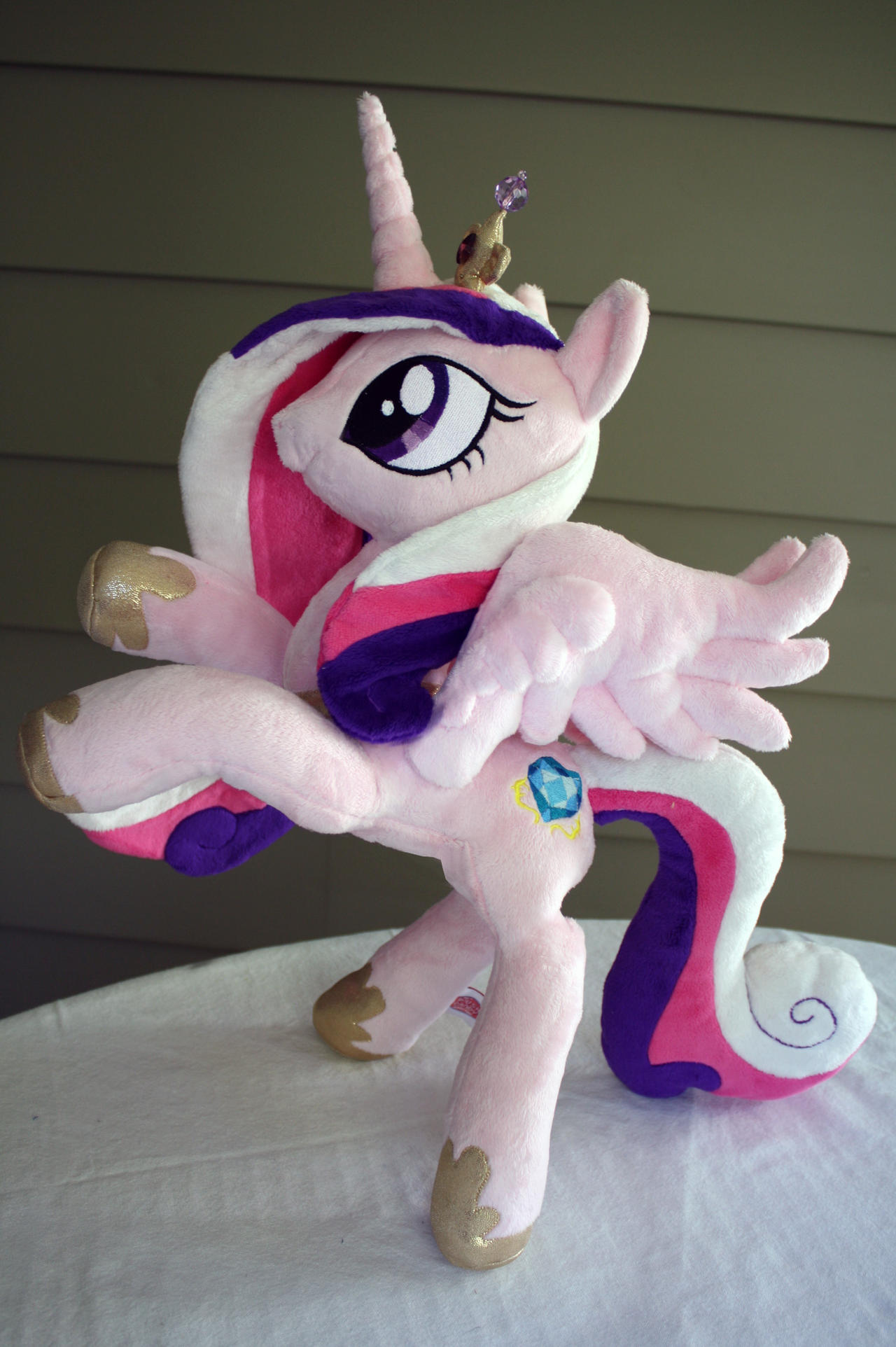 18 inch Poseable Princess Cadence Plush by PlushActionToys