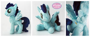 Pocket Poseable Soarin Plush Pony Stallion