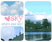sky gif by leehaneul