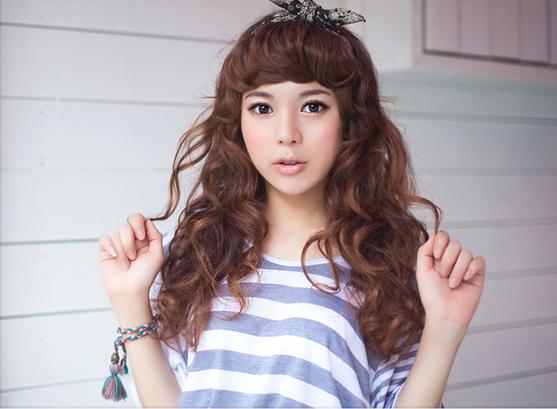 korean hair style girl