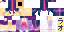 Minecraft - human!Twilight Sparkle [SKIN FILE] by Laogeodritt