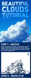 Beautiful Clouds Tutorial by RoryDoona