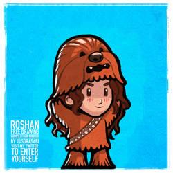 Roshan The Half Wookie Free Drawing Winner.